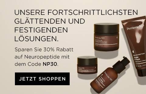 30 Prozent Rabatt auf Neuropeptide