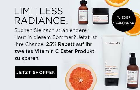 25 Prozent Rabatt auf Ihr zweites Vitamin C Ester Produkt