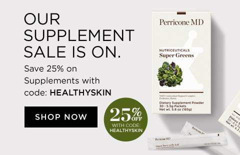 25 percent off all supplements with code HEALTHYSKIN