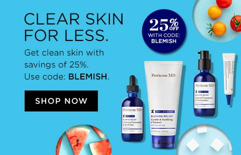 25 PERCENT OFF BLEMISH RELIEF