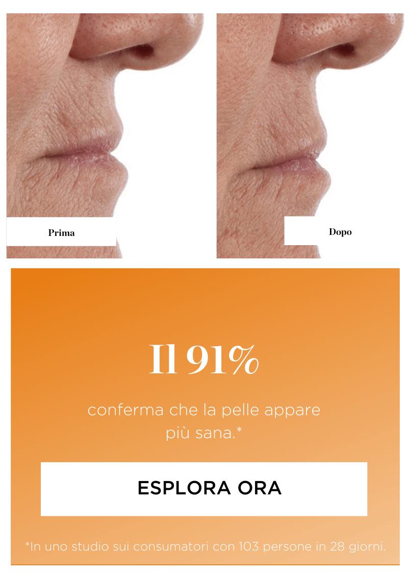 I risultati Perricone MD. Prima e dopo - Il 91% conferma che la pelle appare più sana. Esplora ora.