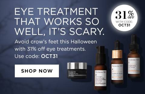 31% eye treatments
