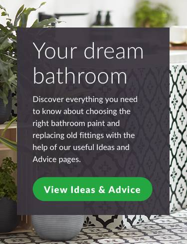 Your dream bathroom. Discover everything you need to know about choosing the right bathroom paint and replacing old fittings with the help of our useful ideas and advice pages. View ideas and advice