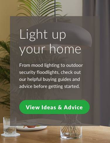 Light up your home. From mood lighting to outdoor security floodlights, check out our helpful buying guides and advice before getting started. View ideas and advice