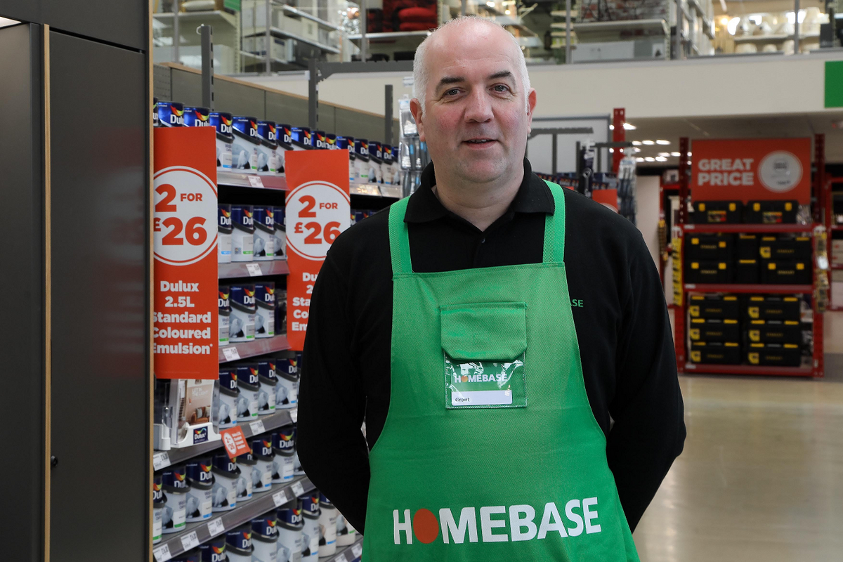 Meet our Director of Trading for Home - Picture of homebase store