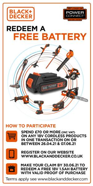 B&D Battery Offer Banner
