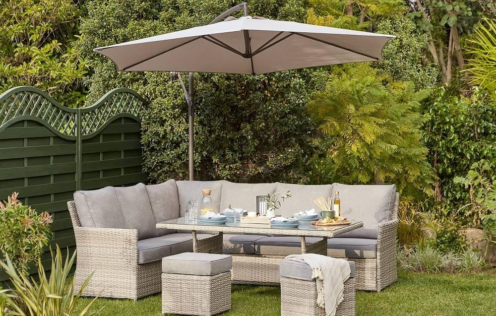 Shop the look - Florence Garden Corner Sofa Set