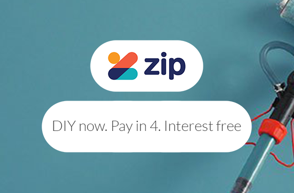 DIY now. Pay in 4. Interest free.