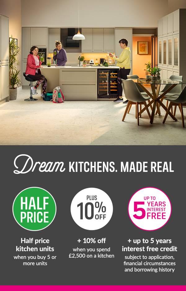 half price kitchens