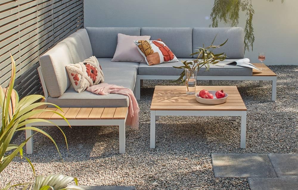 Shop the look - Spirit Garden Corner Sofa Set - Grey