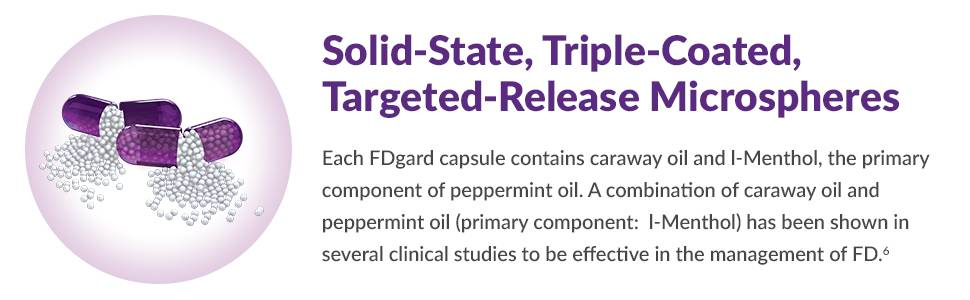 Solid state, Triple coated, targetted-release microspheres