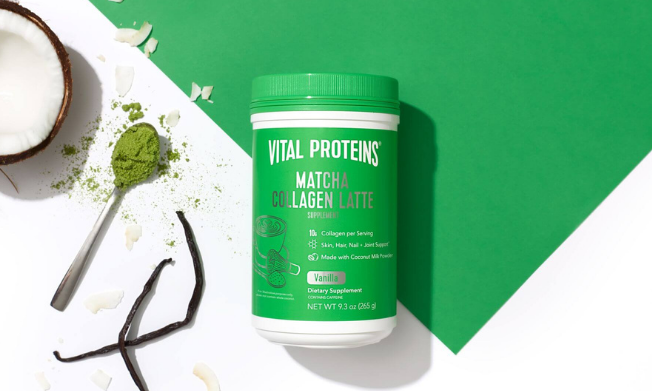 every health banner featuring a vital proteins product