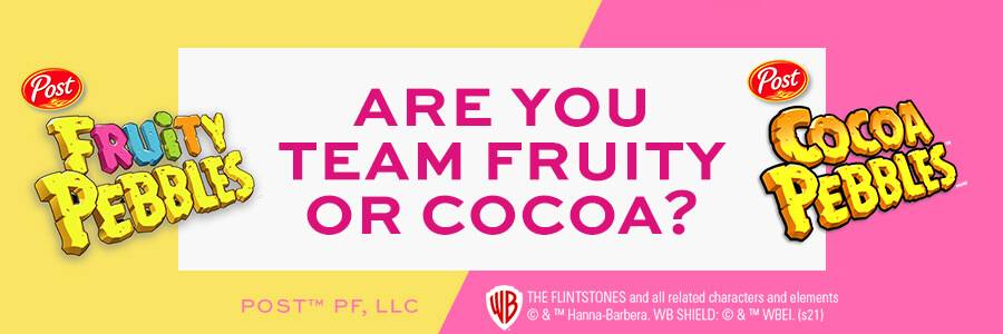 Are you team fruity or team Cocoa?