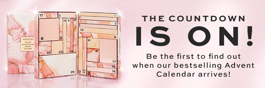 The countdown is on! Be the first to find out when our bestselling advent calendar arrives!