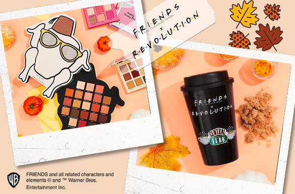 Friends the television series x revolution - feast your eyes on the delicious fourth instalment of the friends x revolution: the thanksgiving edition, shop now
