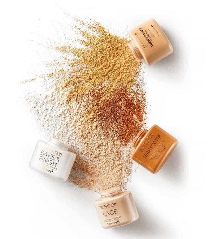 Revolution Beauty baking powders