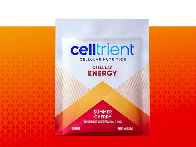 Celltrient Protect glutathione drink in cranberry flavor