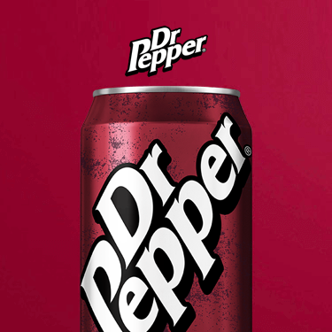 Can of Dr. Pepper