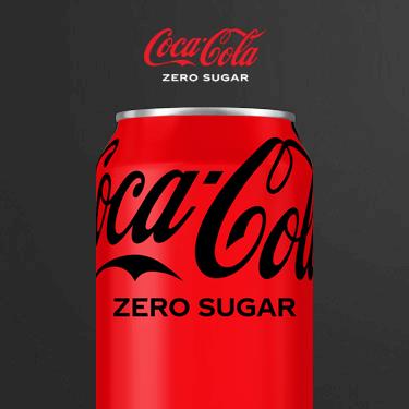 Can of Coca-Cola Zero Sugar