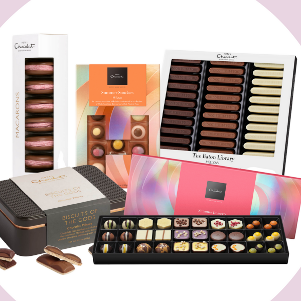 Explore our hand-curated bundles. From our summer picnic selection to our bestselling favorites, discover the perfect chocolate collection with out hand-curated bundles.