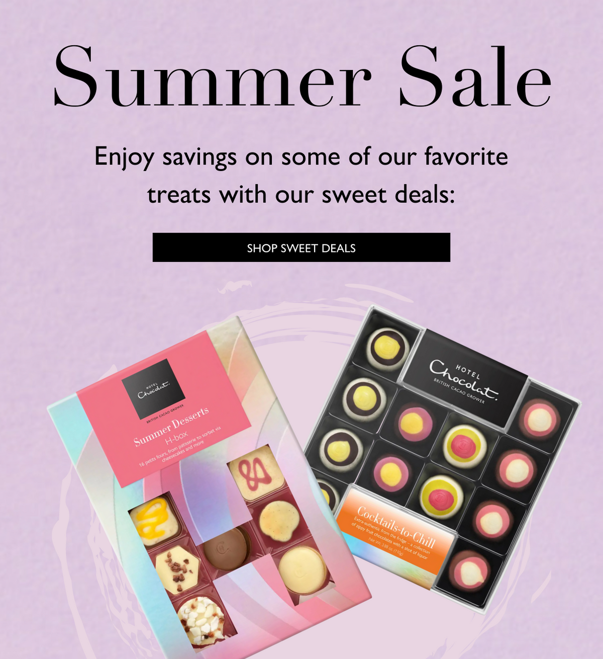 Summer in a box. Discover a range of ice cream and dessert inspired treats... shop now