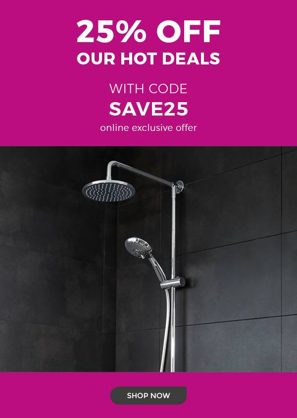 25% off our hot deals with code SAVE25. Shop now. Online exclusive offer.