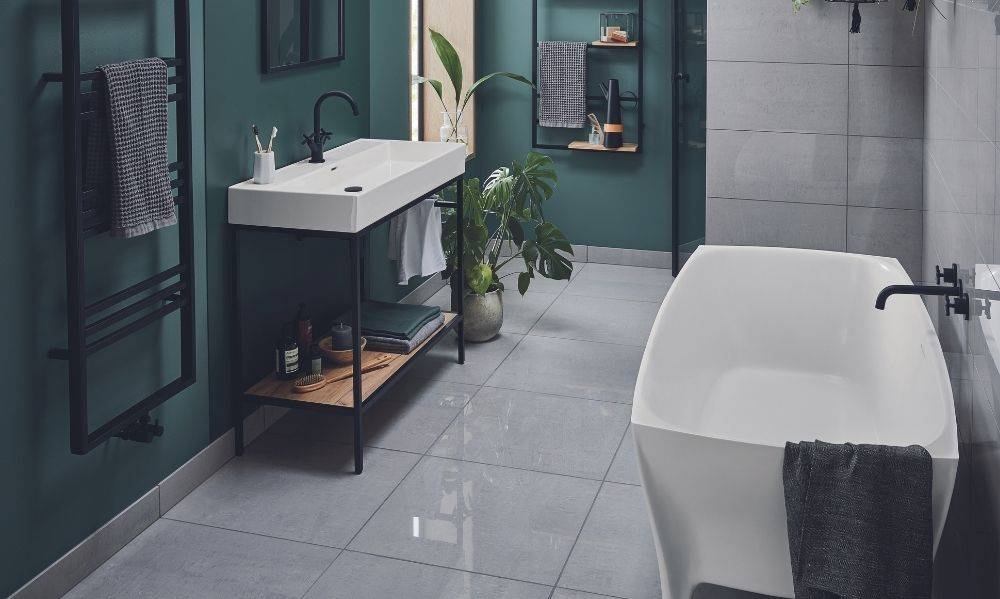 Shop our contemporary bathroom furniture suites