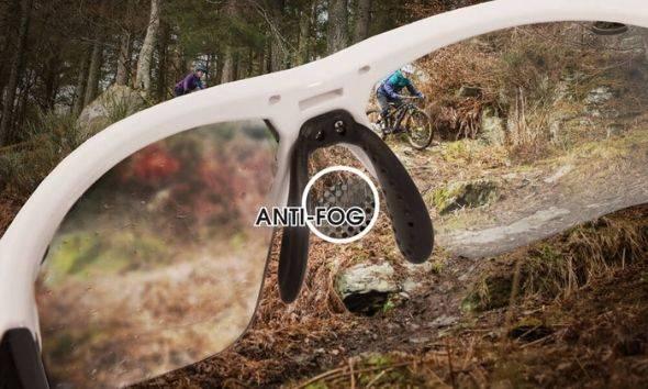 Anti-fog lenses