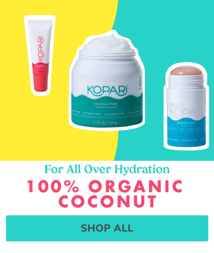 For All Over Hydration - 100% Organic Coconut
