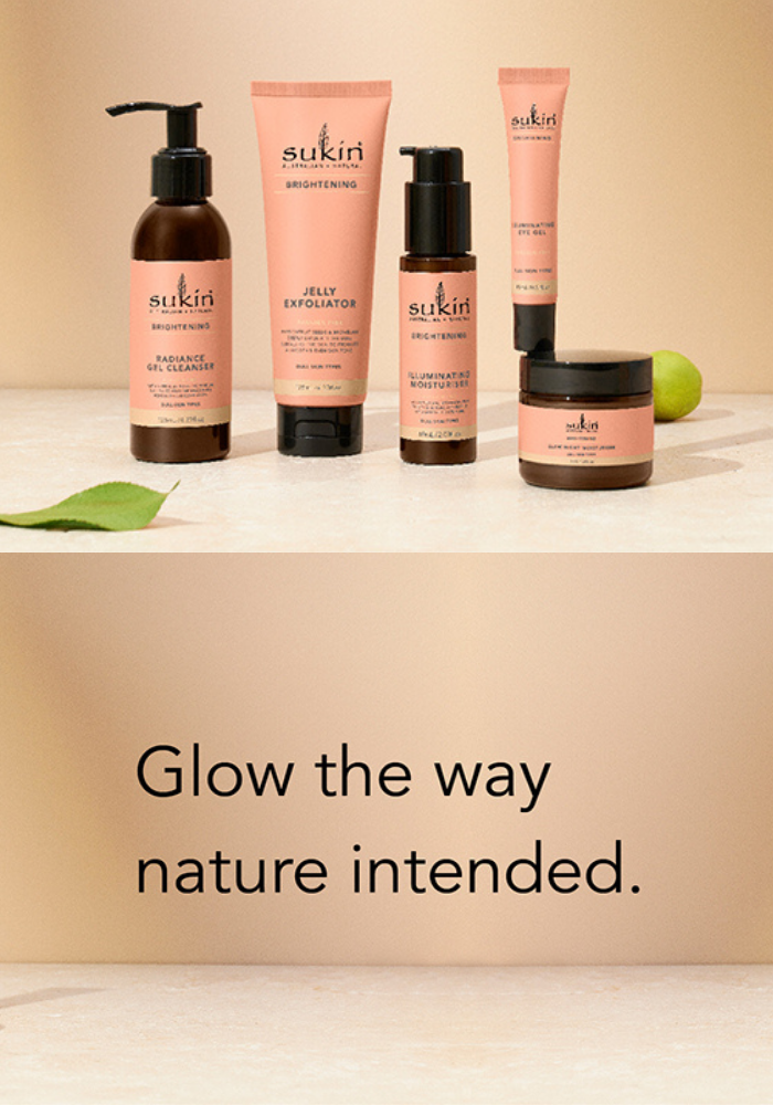Glow the way nature intended.