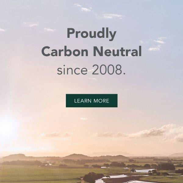 Proudly Carbon Neutral since 2008. Learn more.