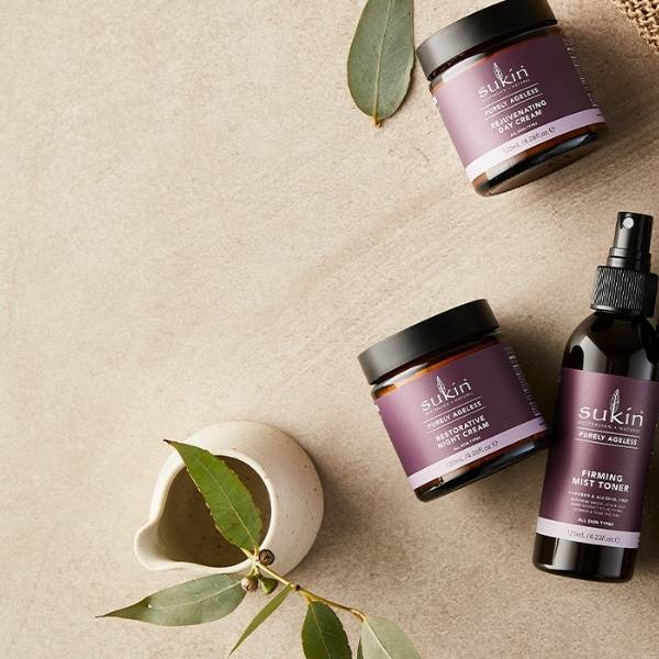 The Purely Ageless Range protects your natural beauty at any age.