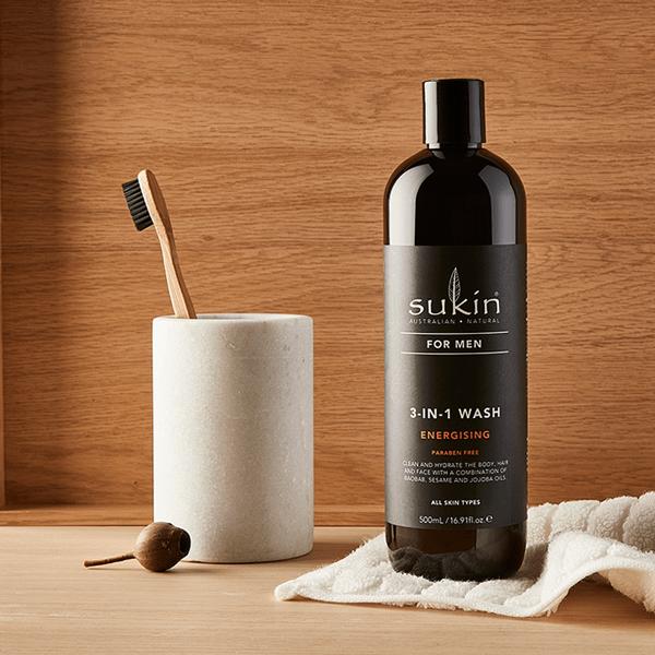 Natural Skincare For Men. Shop the full range.