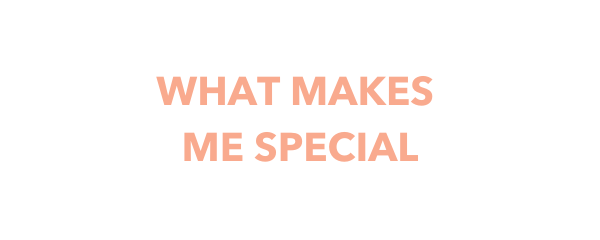 What makes me special