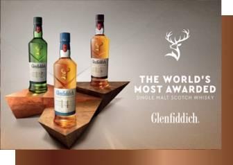 The world's most awarded single malt scotch whisky. Glenfiddich
