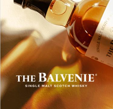 The Balvenie. Single Malt Scotch Whisky