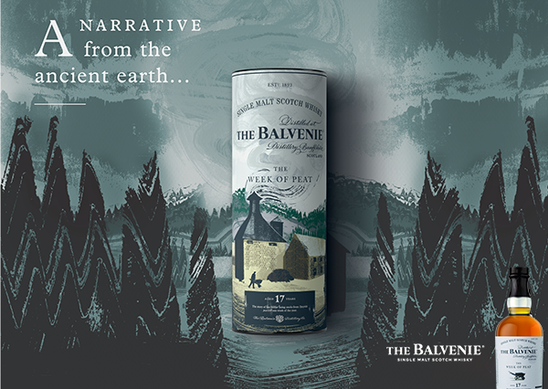 Introducing The Balvenie  The Week of Peat Aged 17 Years