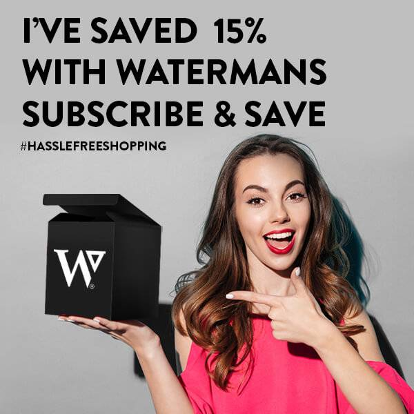 I've saved 15% with watermans subscribe and save