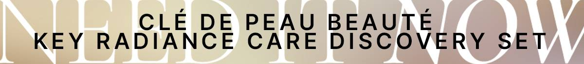Cle De Peau Beaute key radiance care discovery set