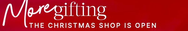 THE CHRISTMAS SHOP IS OPEN