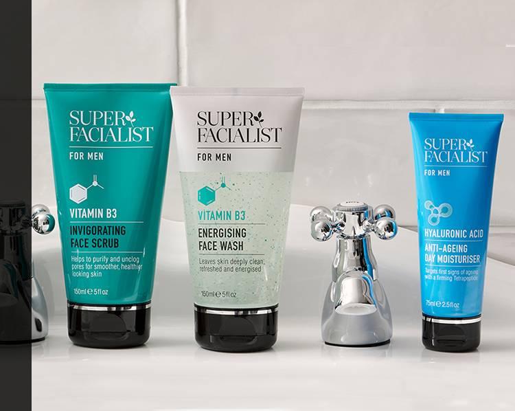 Shop all super facialist products for men