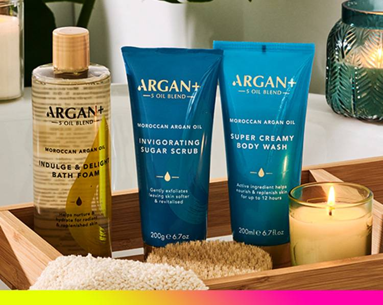Shop now Argan plus products