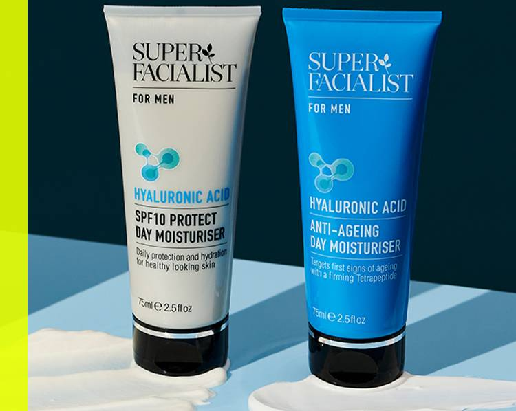 View all super facialist products for men