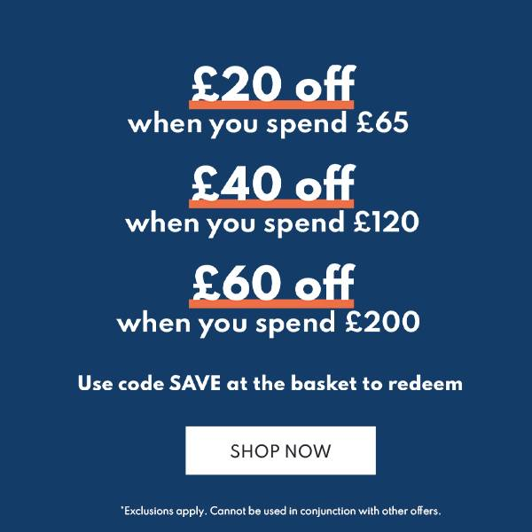 Save up to £60 in our Easter savings event