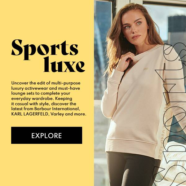 Barbour International Sports Luxe