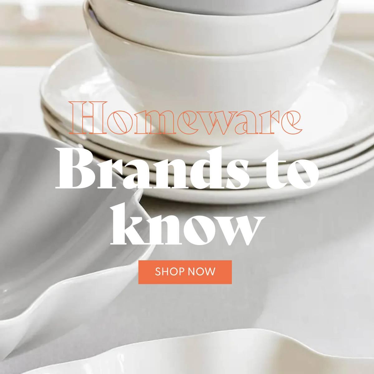 homeware brands to know