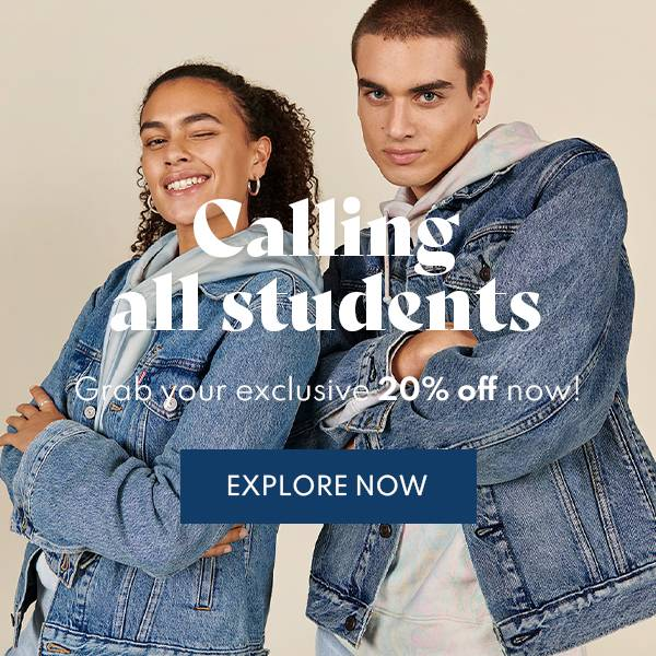 Student boost - 20% off