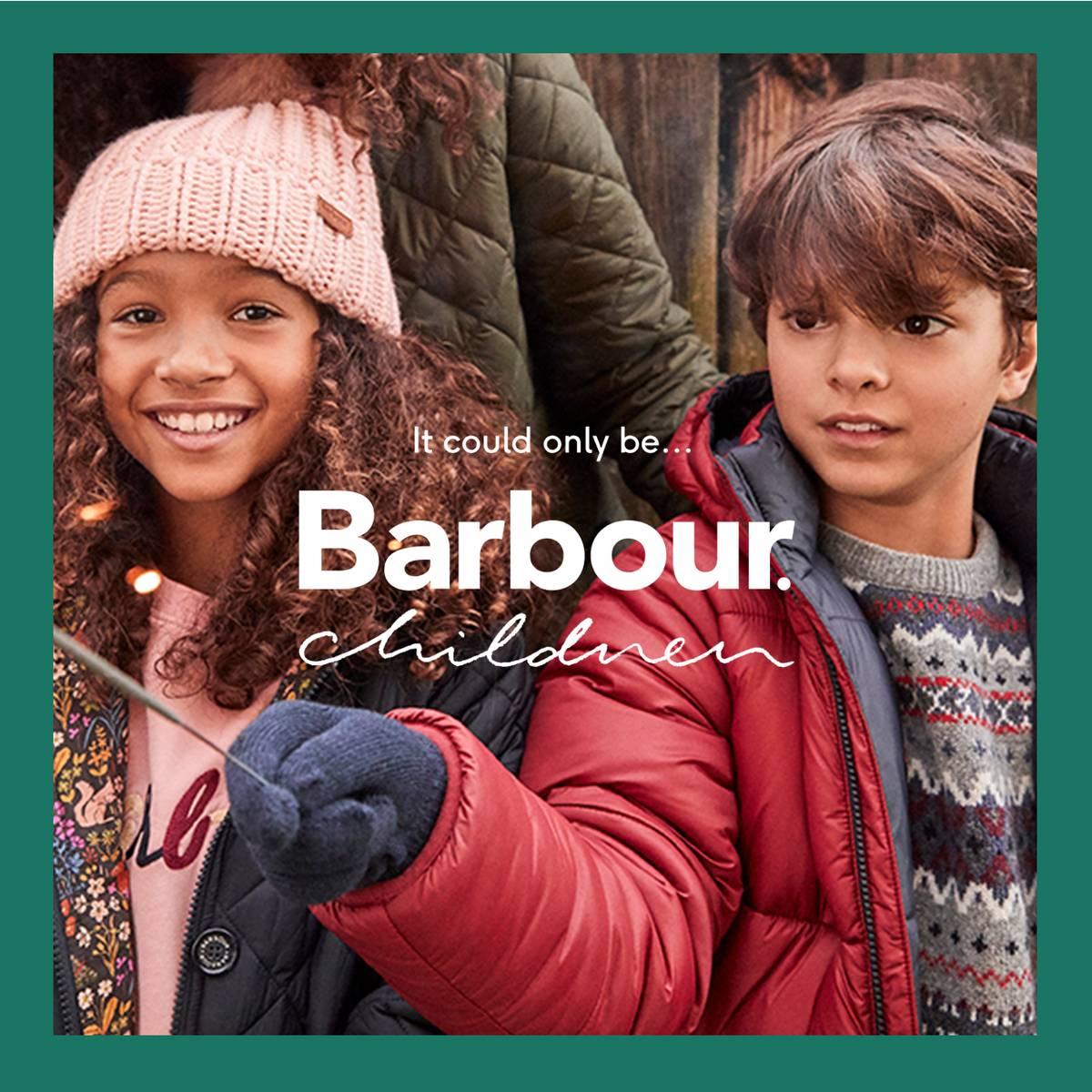 Barbour kids Bonfire Night edit