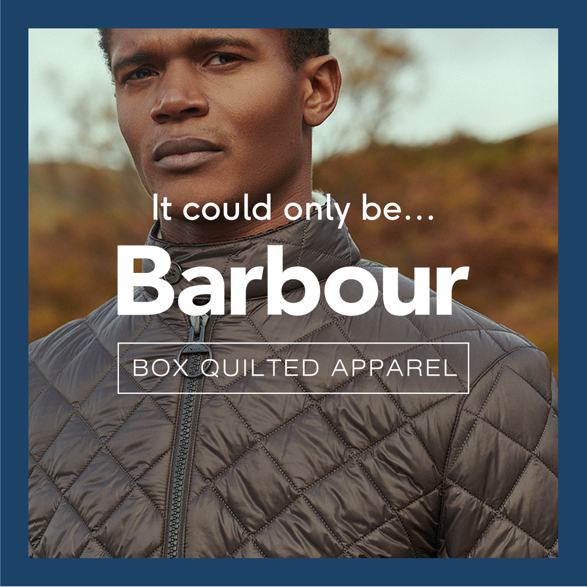 Barbour quilting