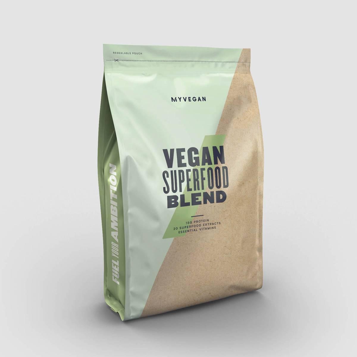 Nejlepší veganská směs superpotravin